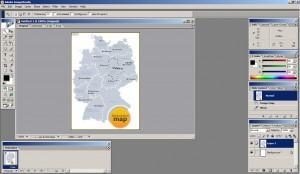 Рис. 2: выделение участка изображения.